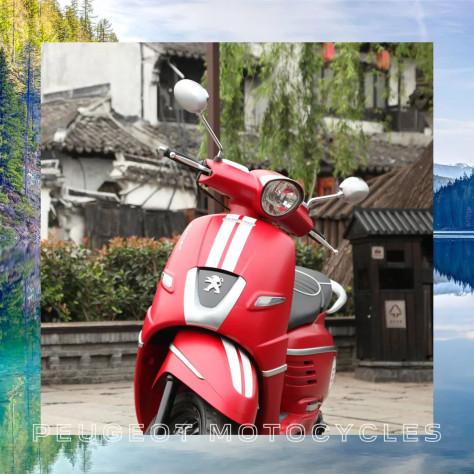 标致 Peugeot2021Django 150 iCBS小致好玩·湖畔一色