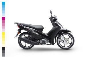 建设雅马哈凌俊JYM110-3整车大图